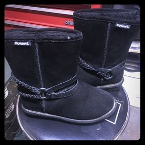 BEAR PAW UGGS! Black 8 excellent